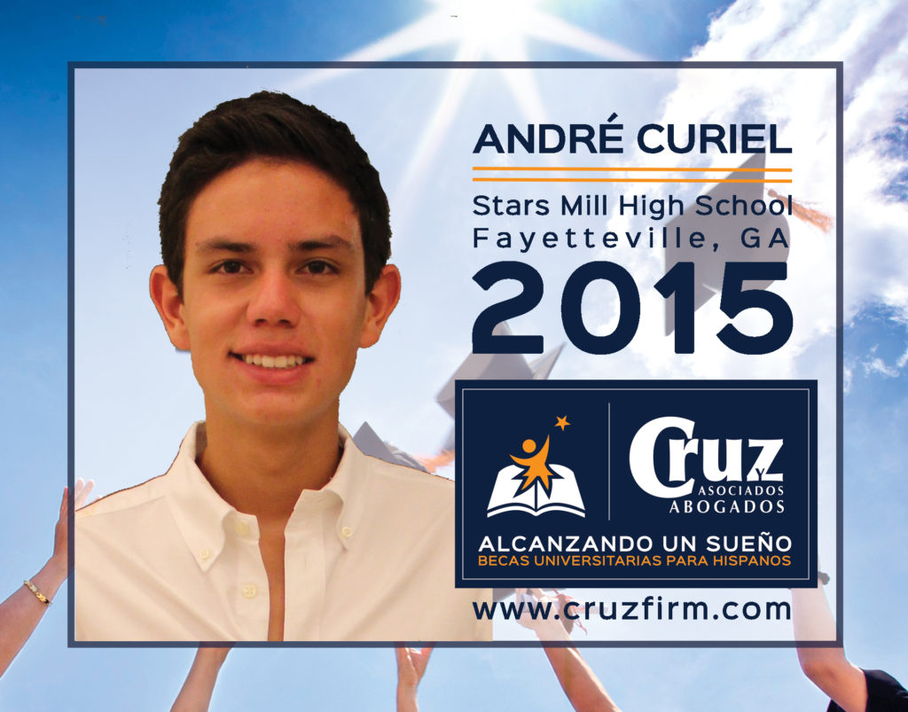 André Curiel-Gutierrez, (Stars Mill High School, Fayetteville, GA)
