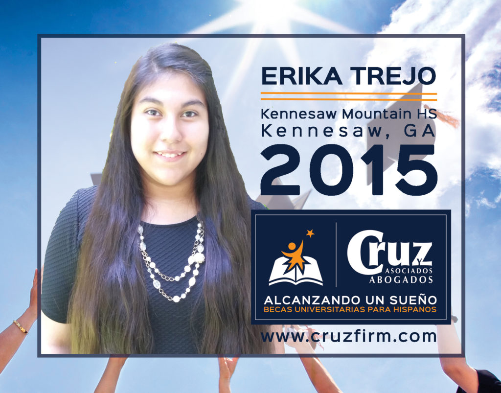 Erika Trejo, Kennesaw Mountain High School (Kennesaw, GA)