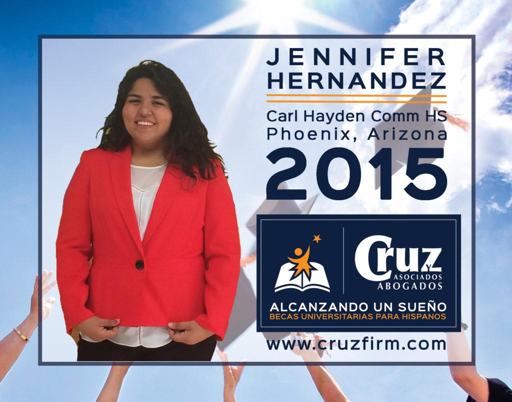 Jennifer Hernandez, Carl Hayden Comm High School (Pheonix, AZ)